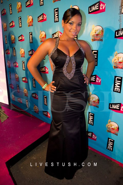 Keida at the EME Awards 2011