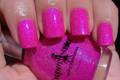 Sparkle with Superstar Nail Lacquer