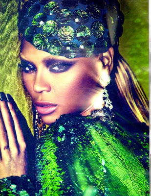 Beyonce for 'W' Magazine July 2011