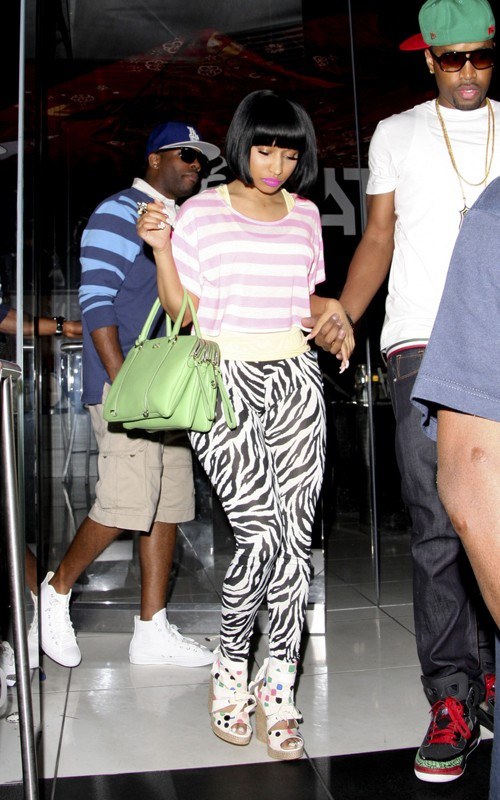 Nicki Minaj Fashion: Tsumori Chisato Rubis Wedge Sandals