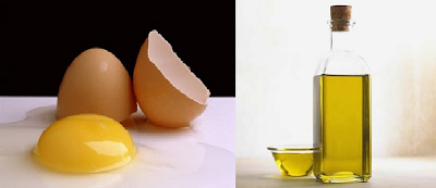 DIY : Olive Oil & Egg Hair Treatment