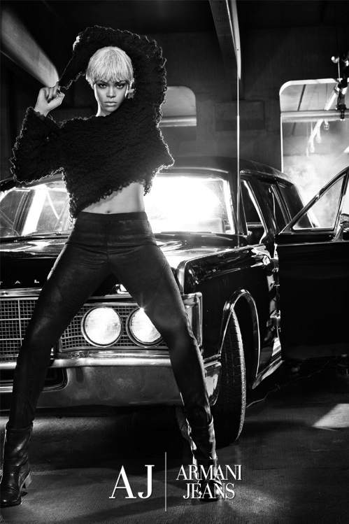Rihanna for Armani Jeans and Emporio Armani Underwear
