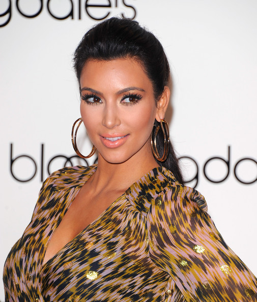 Kim Kardashian Launches Belle Noel at Bloomingdale's in NYC