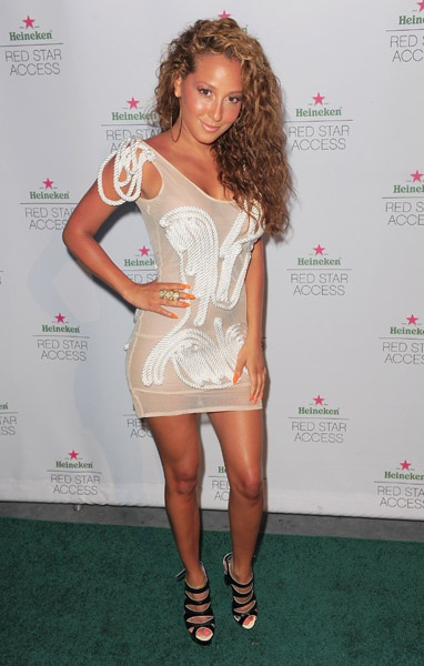 Adrienne Bailon wears Dominique Auxilly !