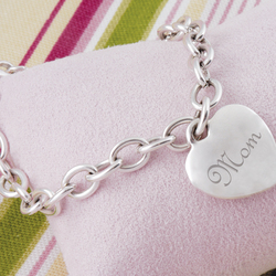 Mom's Heavy Weight Charm Bracelet