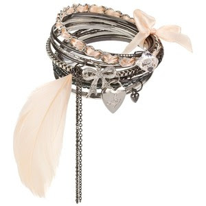 Great Finds: Lipsy Feather Earrings & Feather Bangles