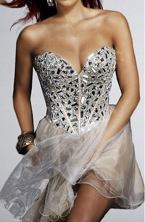 2012 Prom Inspiration : Sherri Hill Diamond Bodice Dress