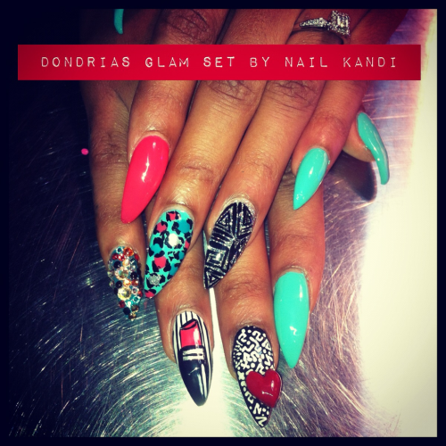 Did these for the singer dondria