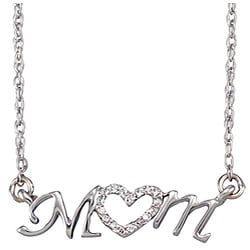 Beautiful 'Mom' Necklaces for Mother's Day