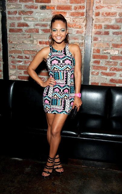 Get The Look: Christina Milian at the 7th Annual Music Saves Lives Event