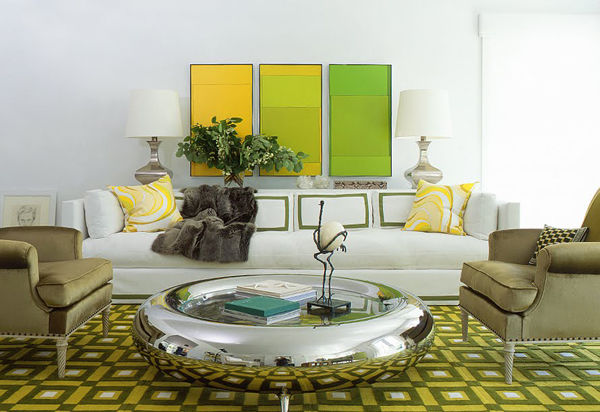 Color Block Living Room