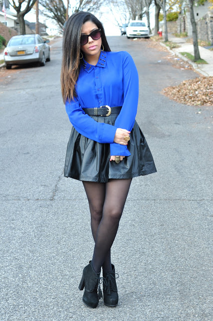 Get The Look: Naty Michele – Black and Blue