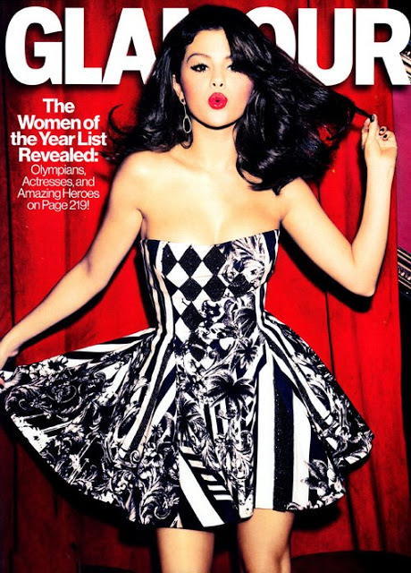Selena Gomez for Glamour December 2012