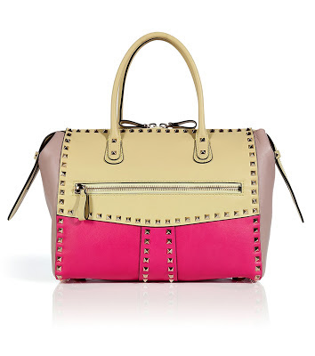 Great Finds: Valentino Leather Rockstud Tote