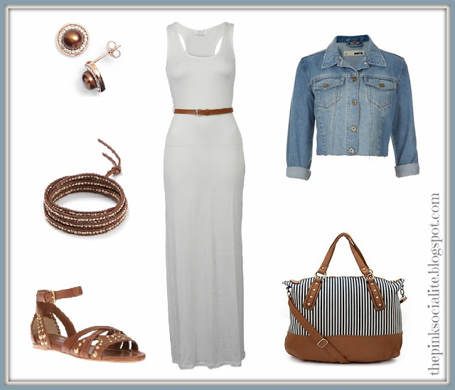Weekend Style : Denim & Maxi