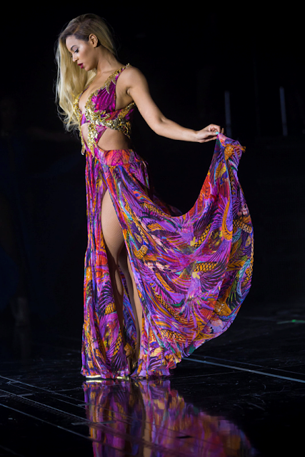 Beyonce shines in Roberto Cavalli for Mrs. Carter Show World Tour