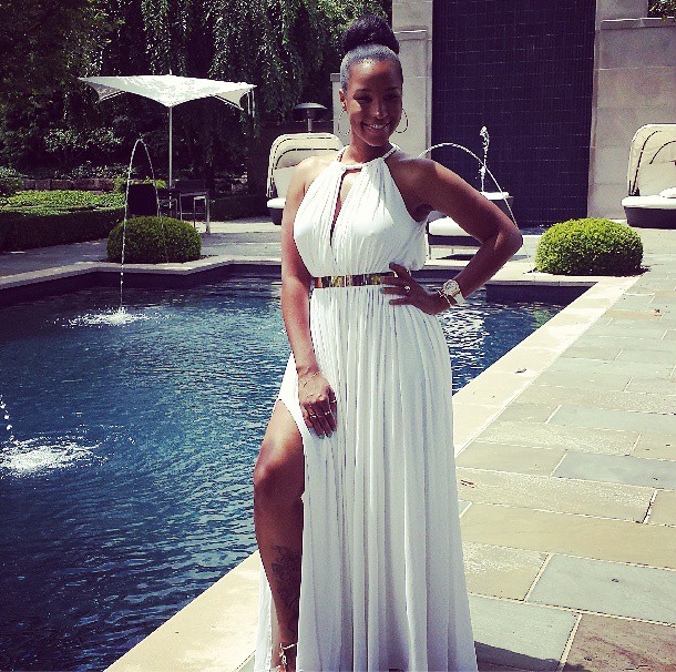 Savannah Brinson in J.Crew Ursula Gown