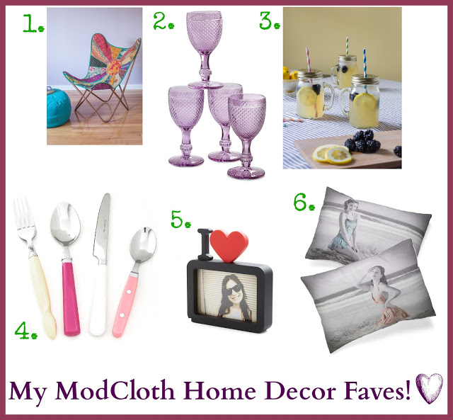 ModCloth's Home Decor Collection