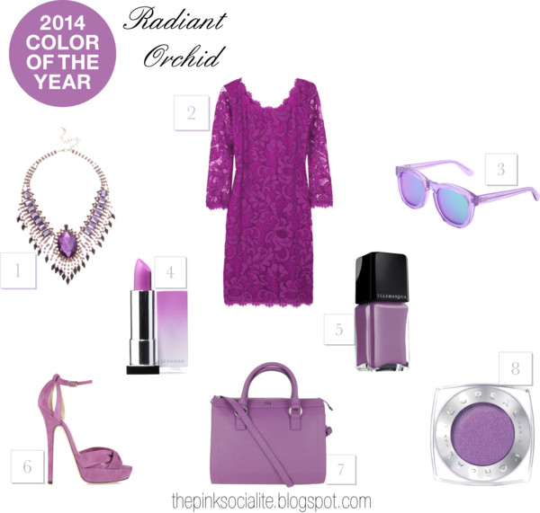 2014 Colour of the Year : Radiant Orchid