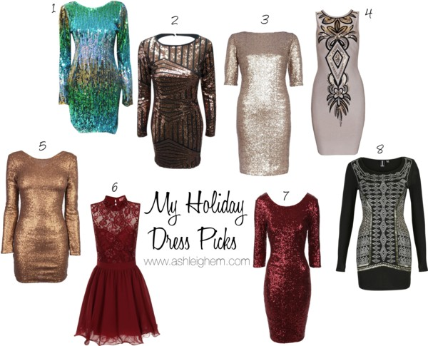 My Holiday Dress Picks