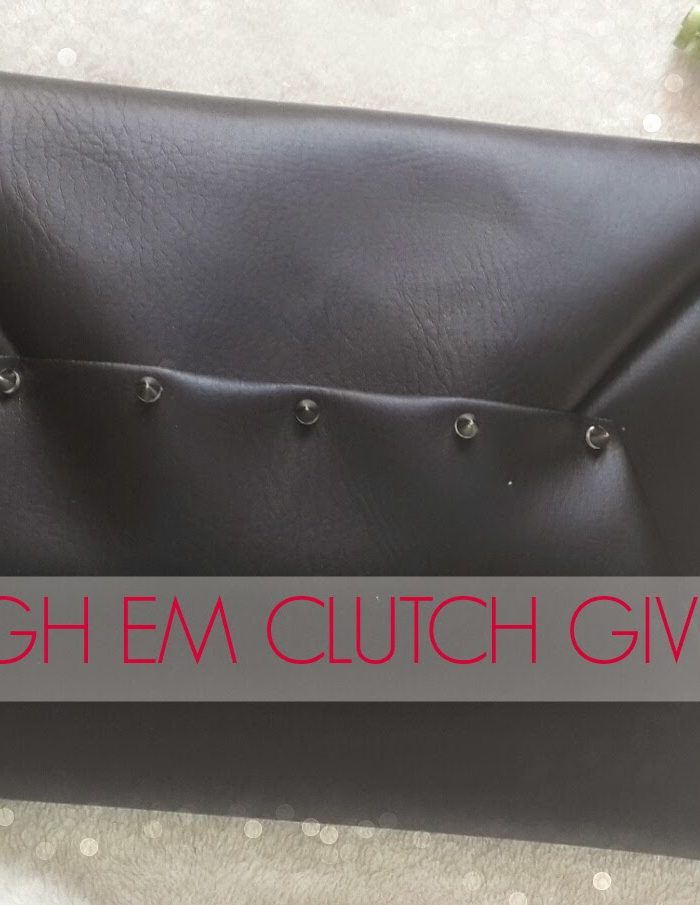Win It! : Spiked Envelope Clutch