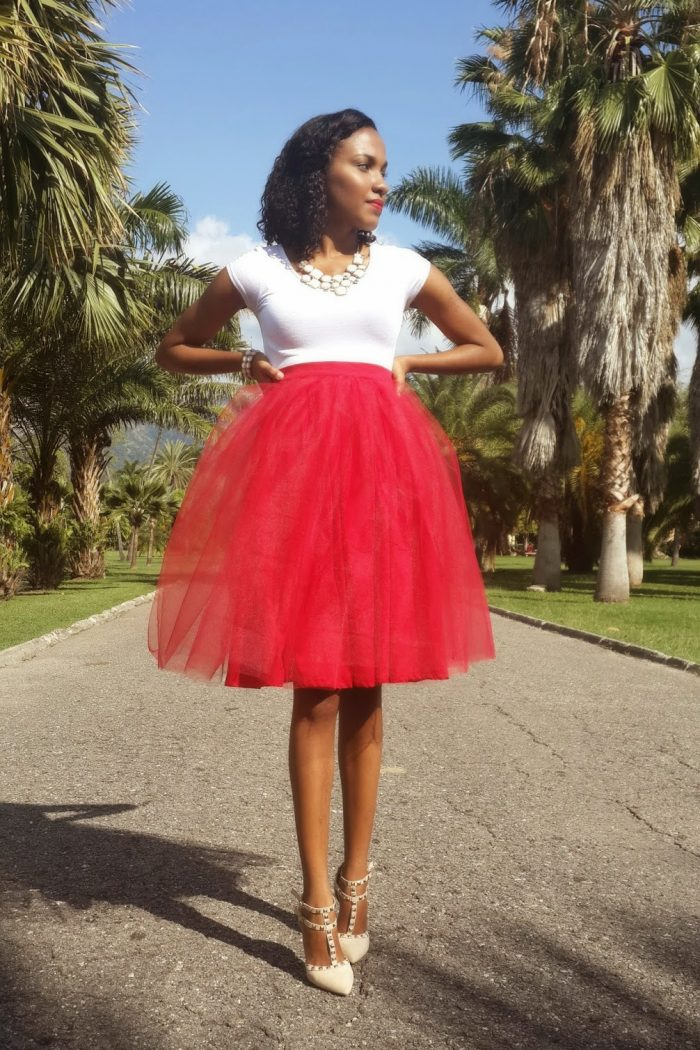 Red, White, & Tulle