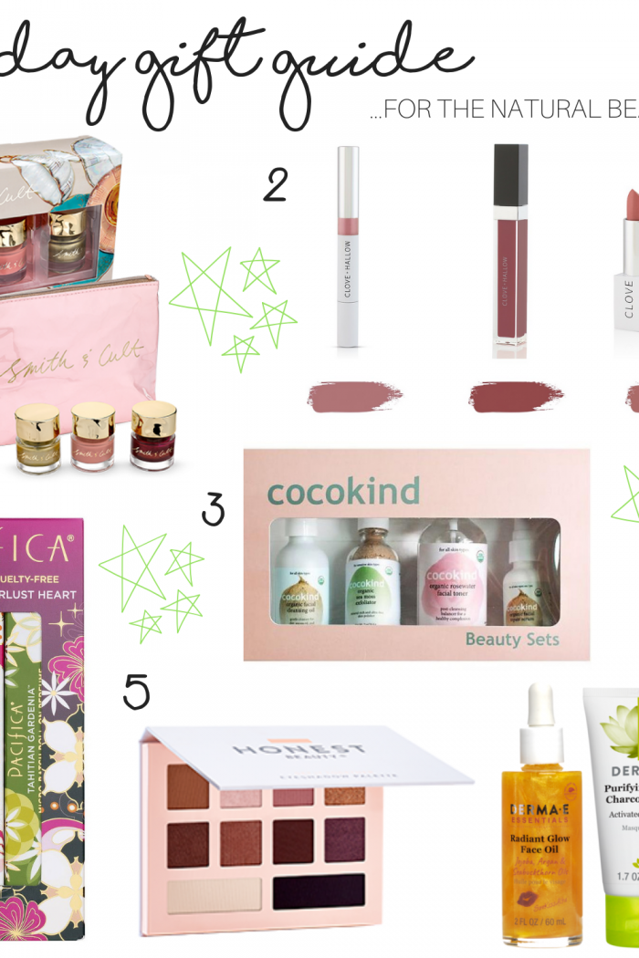 Holiday Gift Guide: For The Natural Beauty Lover