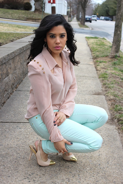 Get The Look: Naty Michele 'Mint, Pink & Gold'