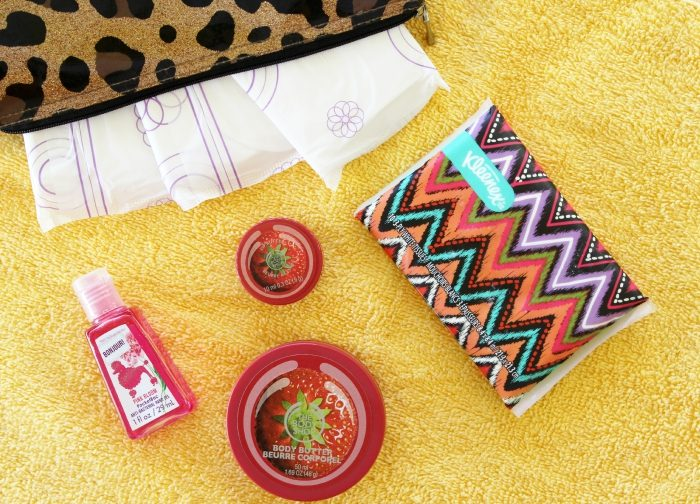 My Top 5 On-The-Go Essentials with U by Kotex